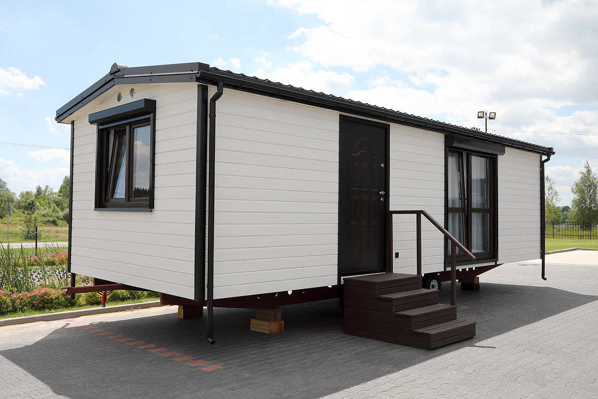DMK Budownictwo - Mobile holiday homes 9x3,5m