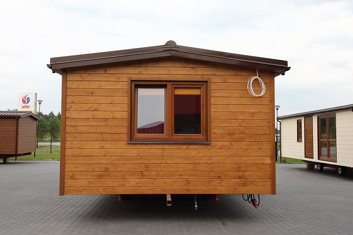 Mobile holiday homes - DMK Budownictwo 8x4m