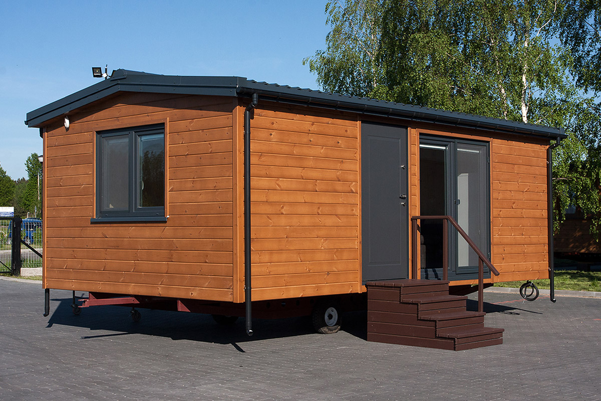 DMK Budownictwo - Mobile holiday homes 7x4 m