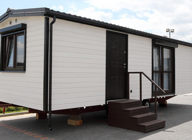 DMK Mobile Home 9x3,5 m