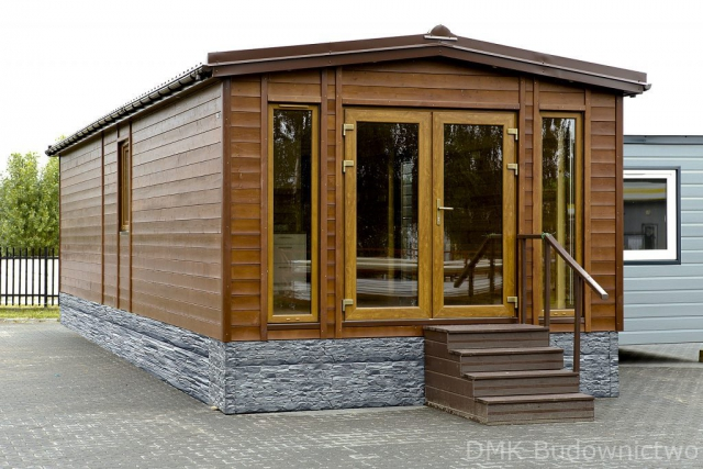Wooden Mobile home with sauna