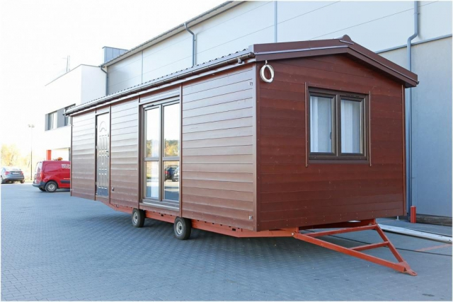 Homes on wheels, wooden house, DMK Budownictwo