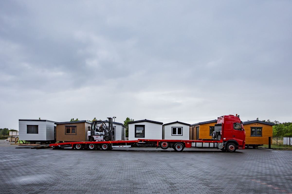 Maisons modulaires - DMK Budownictwo - Transport