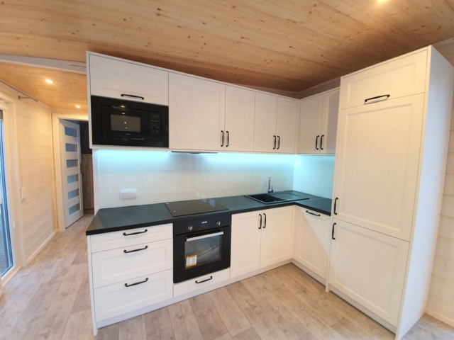 Mobile camping homes - DMK Budownictwo - Grand 14x4 m