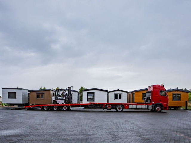Mobile camping homes - DMK Budownictwo - Transport