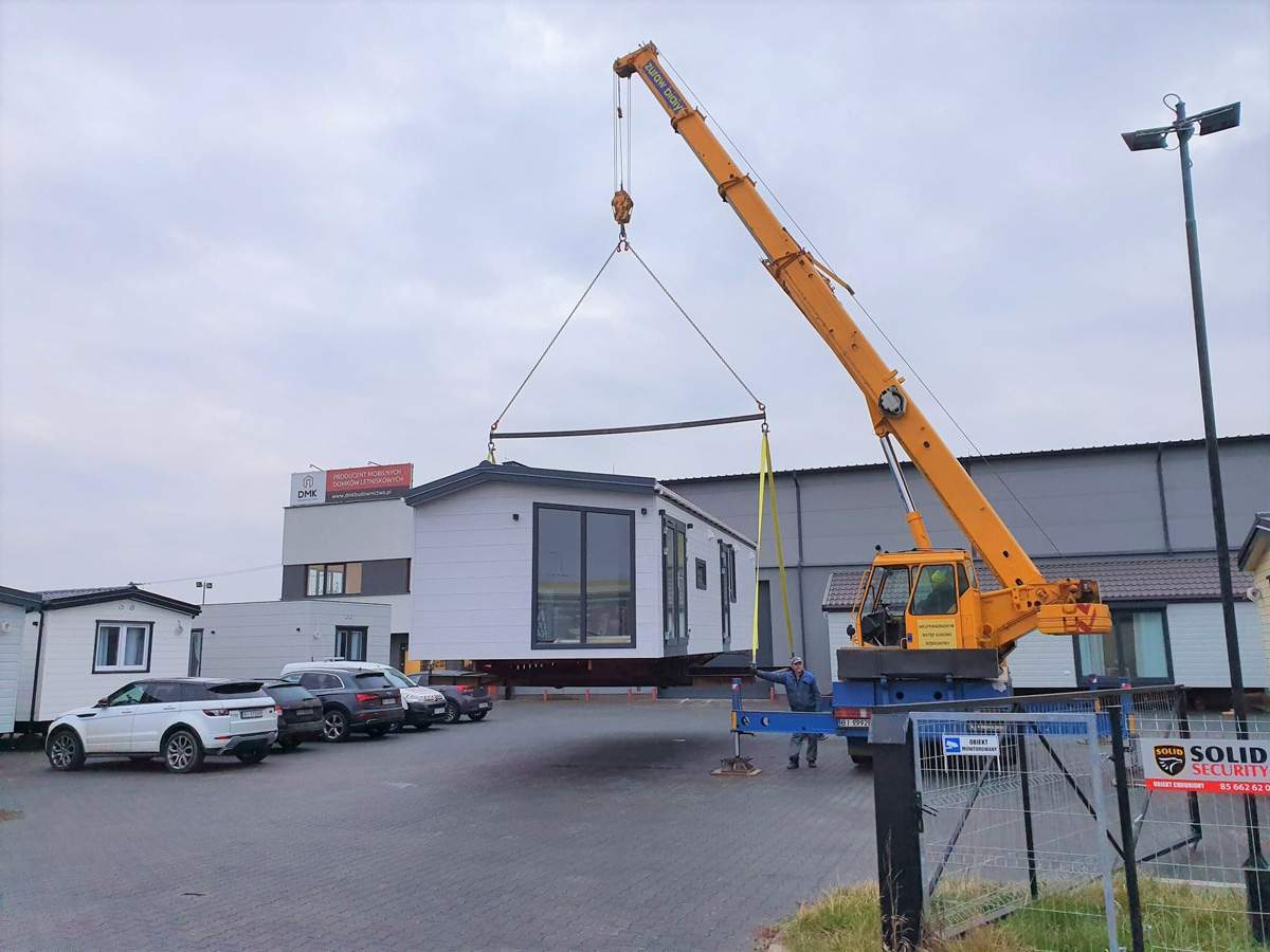 Mobile holiday home - DMK Budownictwo - Transport